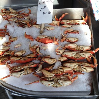 They look pretty crabby...