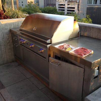 Look at this super awesome communal grill!