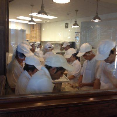 Dumpling factory (a.k.a sweat shop)