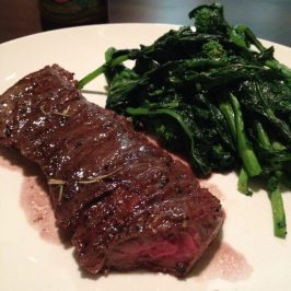 Cast Iron Skirt Steak