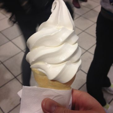 McDonalds Twisty Cone!