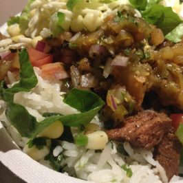 Chipotle Steak Fajita Bowl