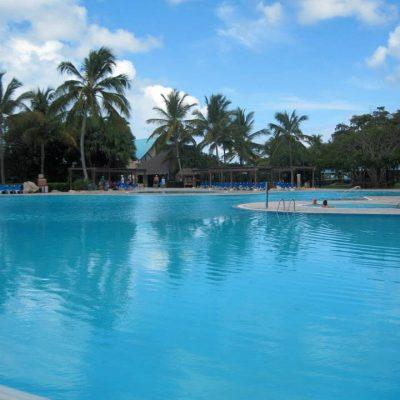 The massive main pool.