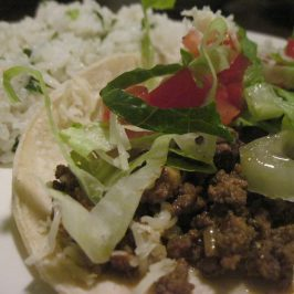 Homemade Beef Tacos