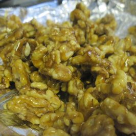 Making Your Own Candied Walnuts