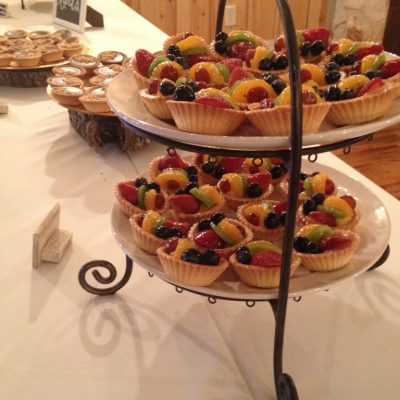 OMG the fruit tarts!!