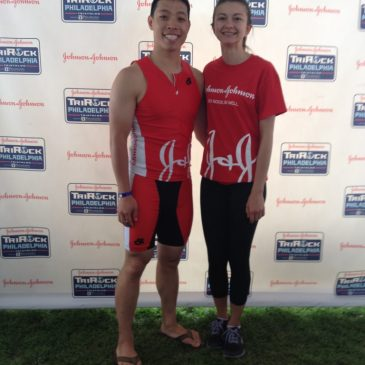 J&J TriRock Philly Sprint Triathlon Race Report