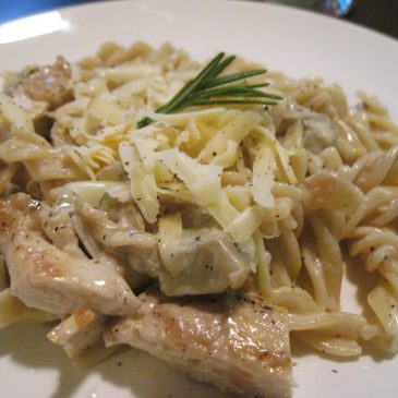 Chicken, Mushroom and Artichoke Marsala