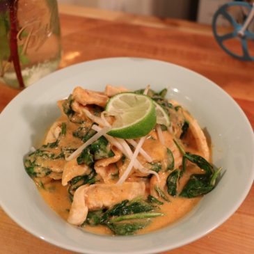 Plated Subscription Box Review: Thai Peanut Chicken Curry with Sticky Rice