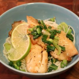 Plated Subscription Box Review: Vietnamese Caramel Fish with Vermicelli and Bok Choy
