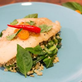 Blue Apron Subscription Box Review: Crispy Catfish & Cracked Freekeh