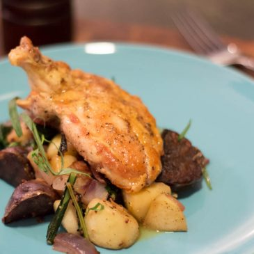 Blue Apron Subscription Box Review: Pan-Roasted Chicken