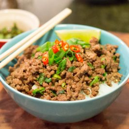 Thai Chili Beef Vermicelli Bowl