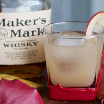 Ginger Bourbon Cider Cocktail